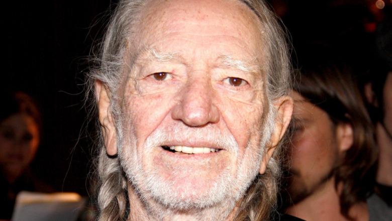 Willie Nelson smiler