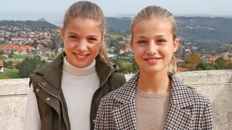 Prinsesse Leonor og Prinsesse Sofia 2014