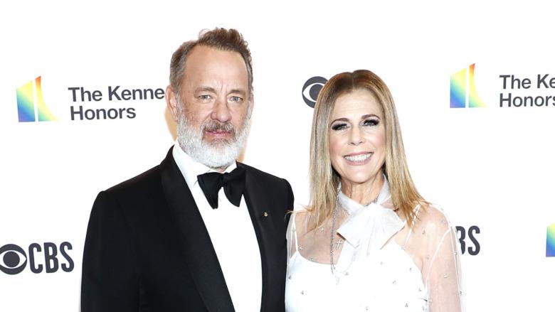 Tom Hanks og Rita Wilson