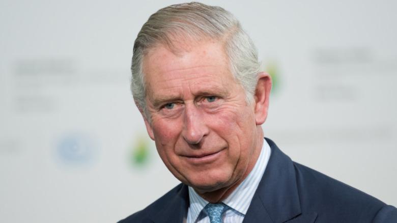 Prins Charles smilende