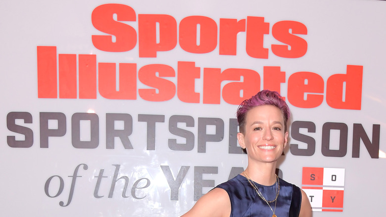 Megan Rapinoe Sports Illustrated kunngjøring