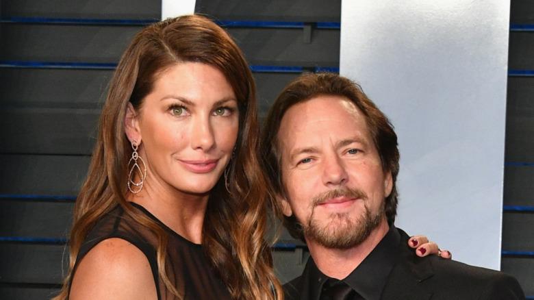 Eddie Vedder og Jill McCormick poserer sammen