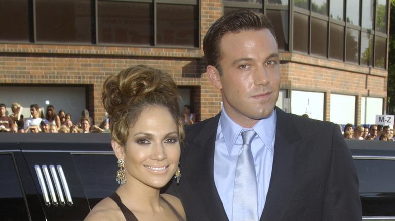 Jennifer Lopez og Ben Affleck på den røde løperen