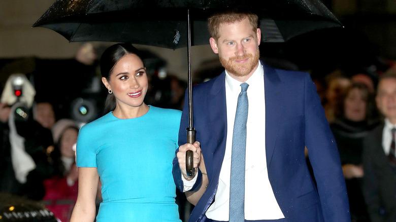 Prins Harry og Meghan Markle på 2020-arrangementet