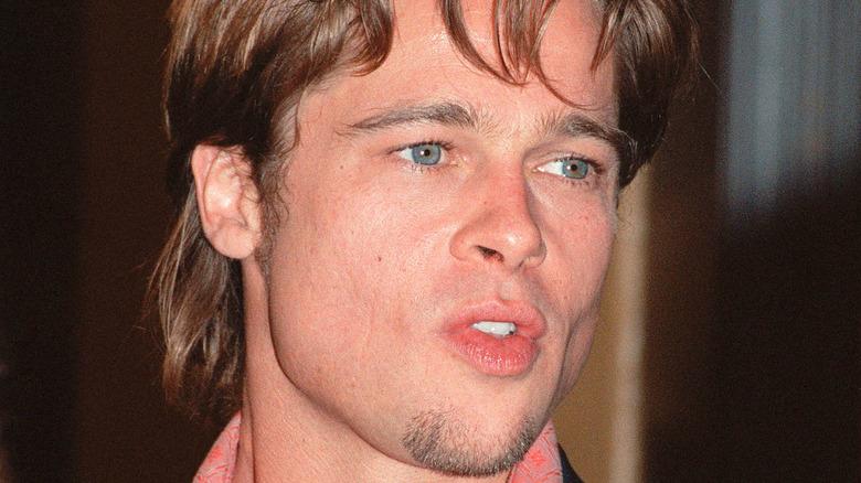 Brad Pitt under Fight Club