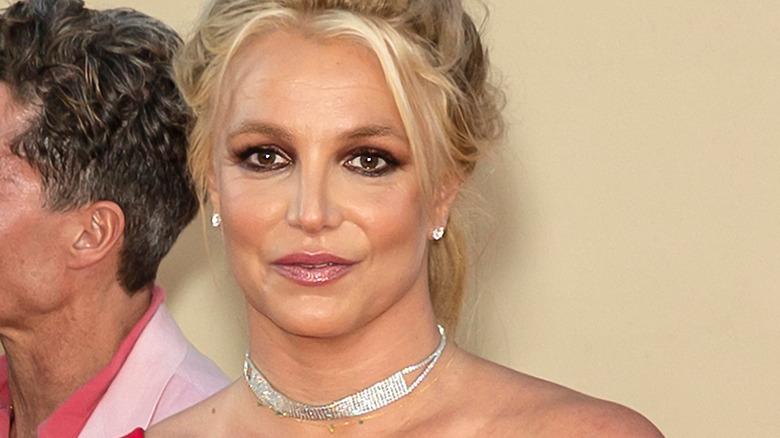 Britney Spears håret opp