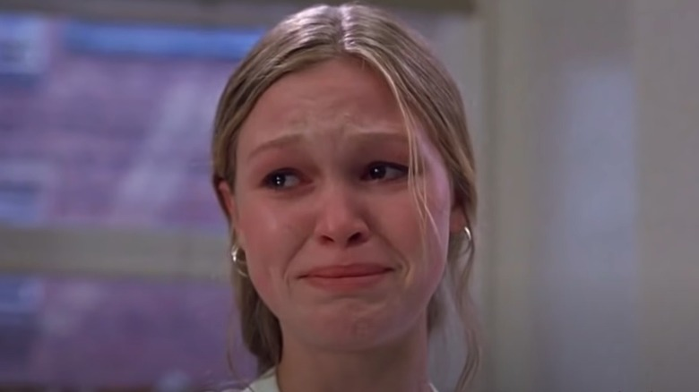 Julia Stiles gråter i 10 ting jeg hater om deg