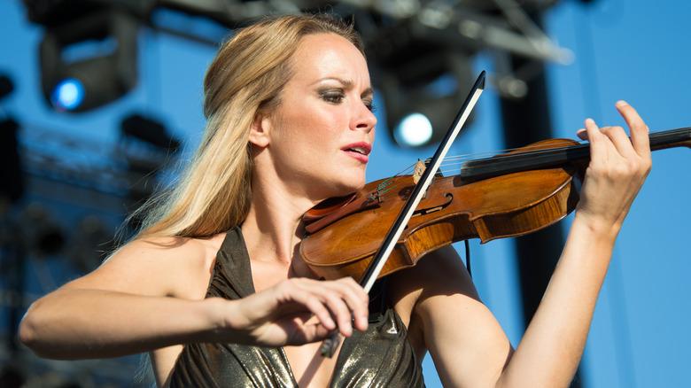 Caroline Campbell opptrådte i 2014