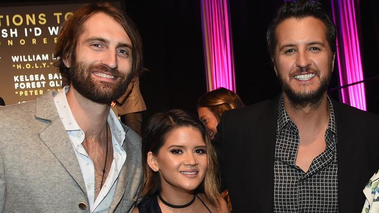 Ryan Hurd, Maren Morris og Luke Bryan i Nashville