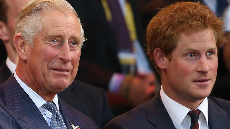 Prins Charles og prins Harry deltok på Invictus Games