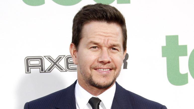 Mark Wahlberg smiler