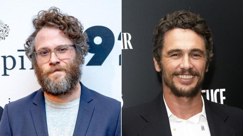 Seth Rogen på 92nd Street Y 2020 og James Franco på The Deuce screening 2019