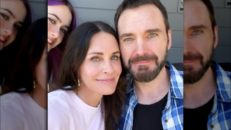 Coco Arquette, Courteney Cox og Johnny McDaid