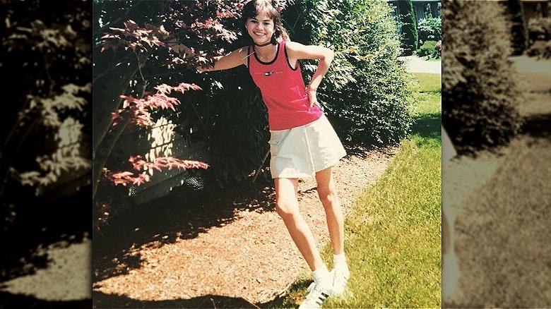 Chrissy Teigen som tenåring