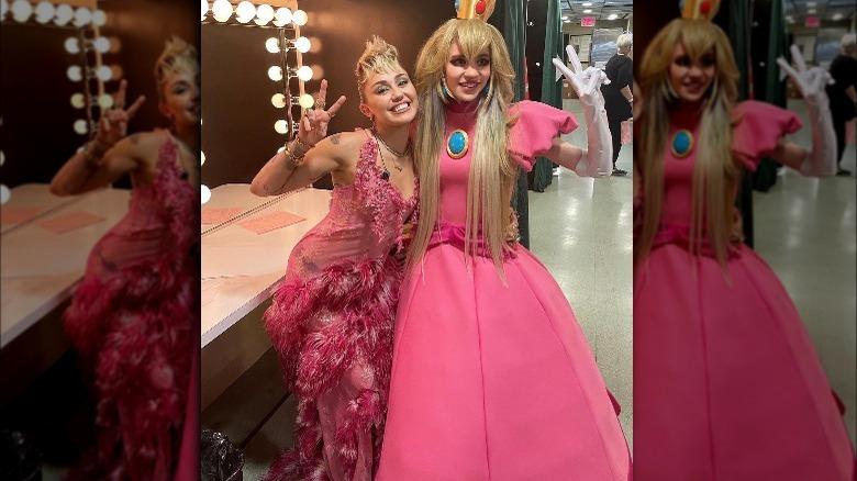 Miley Cyrus og Grimes