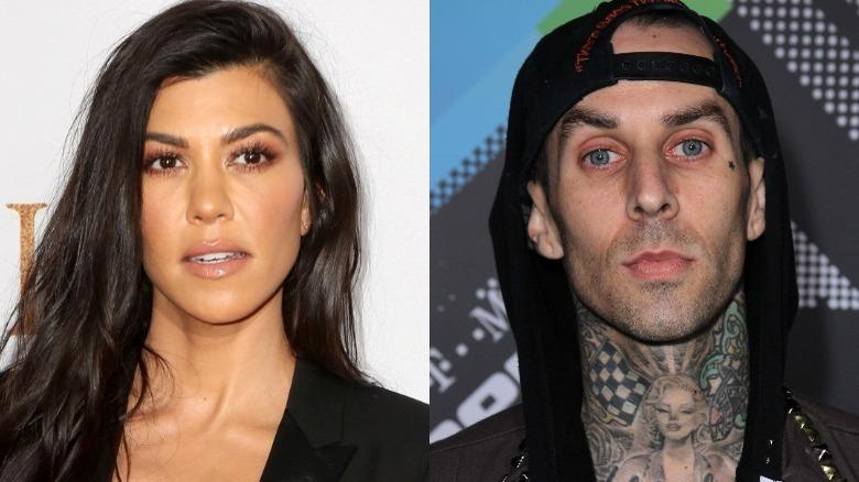 Kourtney Kardashian og Travis Barker