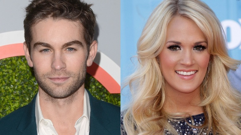 Chace Crawford og Carrie Underwood