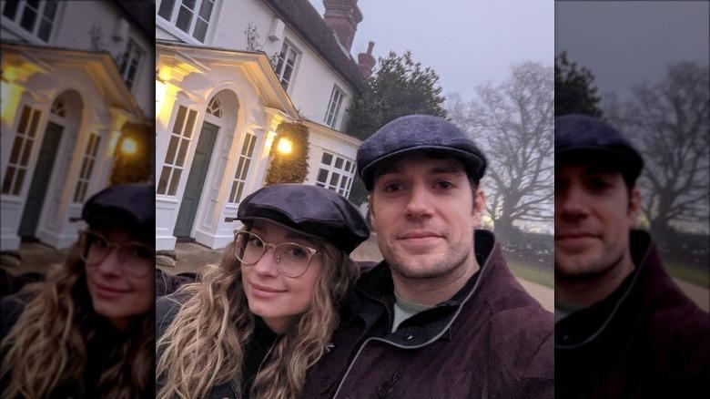 Natalie Viscuso og Henry Cavill selfie