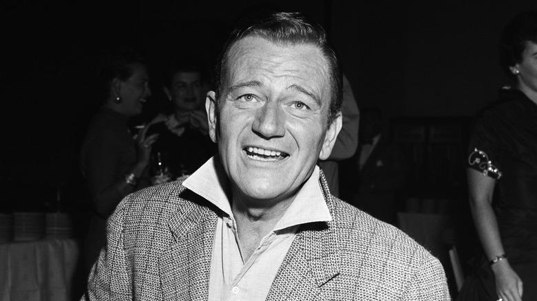 John Wayne smiler
