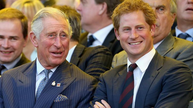 Prins Charles og prins Harry