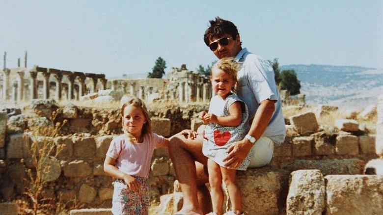 Kate, Pippa og Michael Middleton i Jordan