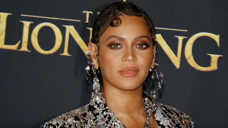Beyonce på verdenspremieren på 'The Lion King'
