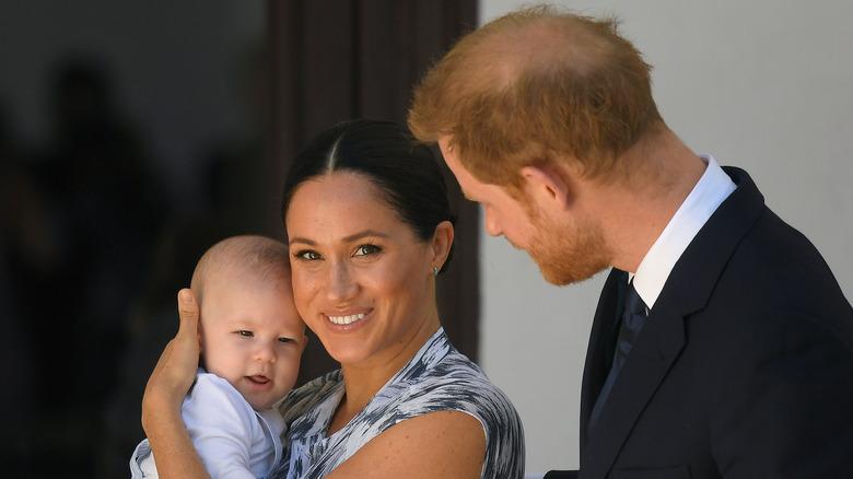 Archie, Meghan Markle, prins Harry