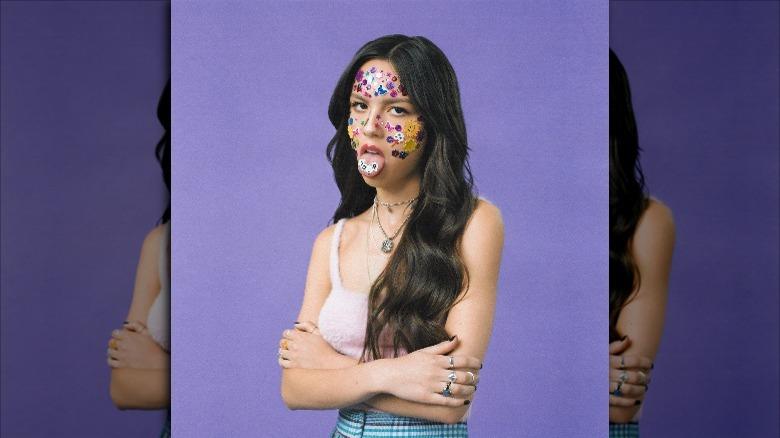 Olivia Rodrigos Sour album art