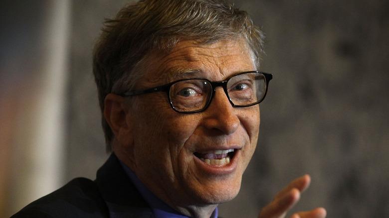 Bill Gates snakker