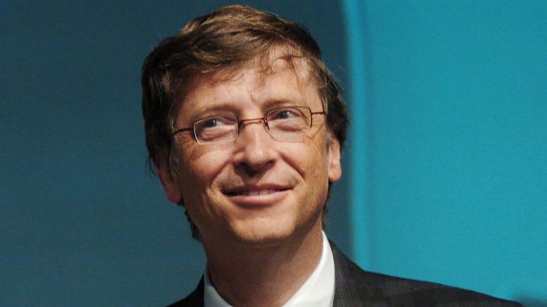 Bill Gates ser flau ut