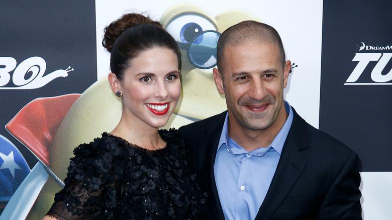 Lauren Bohlander, Tony Kanaan, poserer