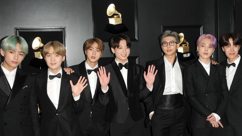 BTS på GRAMMY Awards 2019