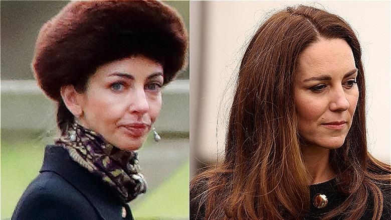 Rose Hanbury og Kate Middleton
