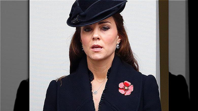 Kate Middleton ser opprørt ut