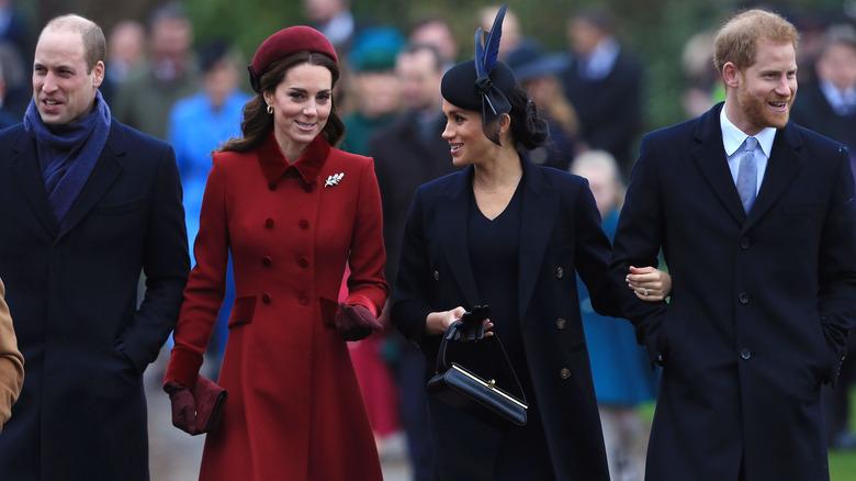 Prins William, Kate Middleton, Meghan Markle, prins Harry går