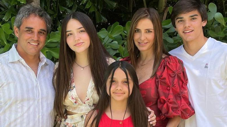 Juan Pablo Montoya og familie