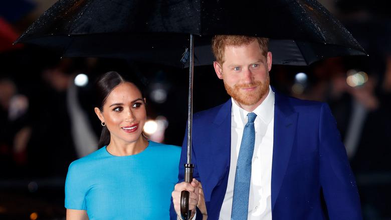 Meghan Markle Prince Harry-paraply