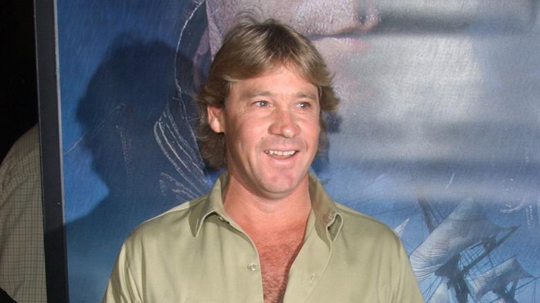 Steve Irwin smiler