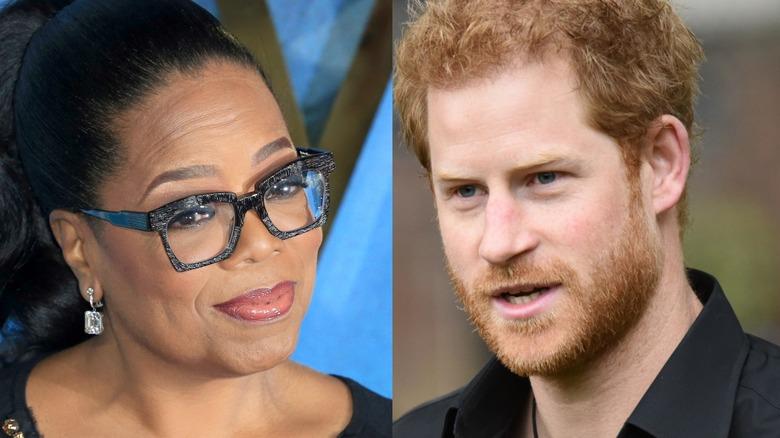 Oprah Winfrey og prins Harry