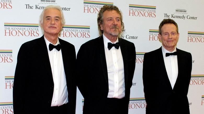 Led Zeppelin i smoking