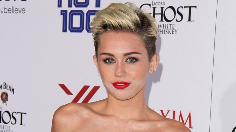 Miley Cyrus på et arrangement