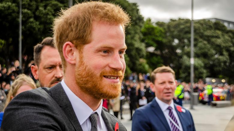 Prins Harry ved Wellington War Memorial 2018