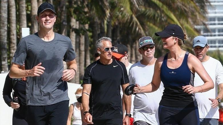 Jared Kushner og Ivanka Trump jogger