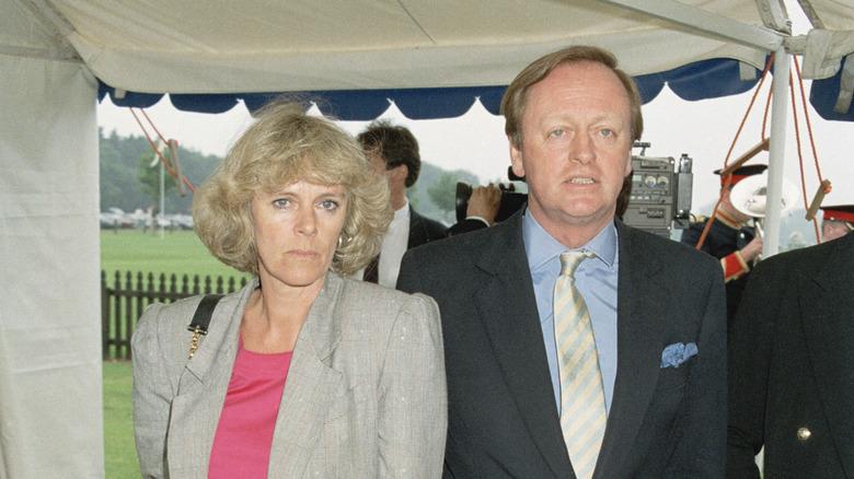Andrew og Camilla Parker Bowles i 1992.