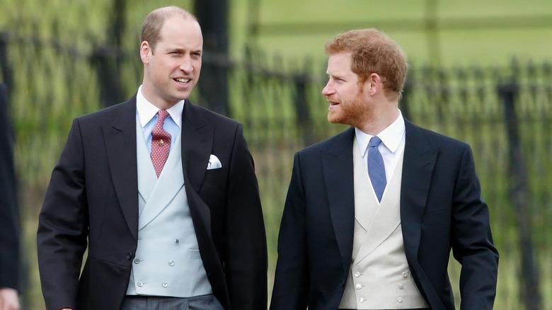 Prins William Prins Harry passer