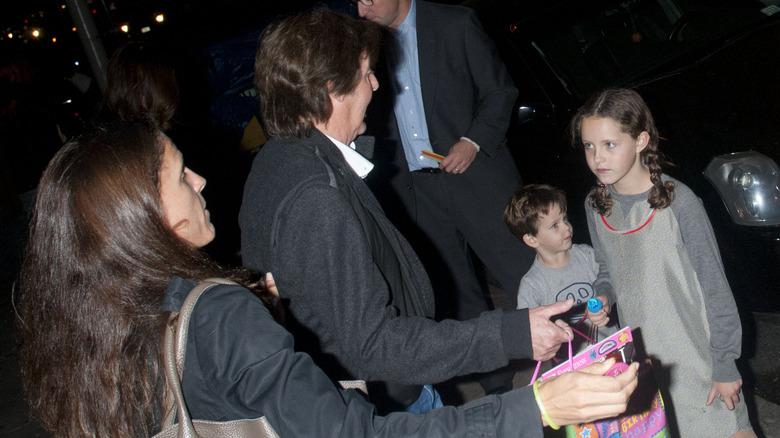Sir Paul McCartney og datteren Beatrice