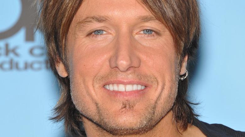 Keith Urban smiler