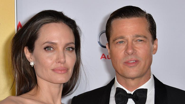 Brad Pitt og Angelina Jolie, rød løper