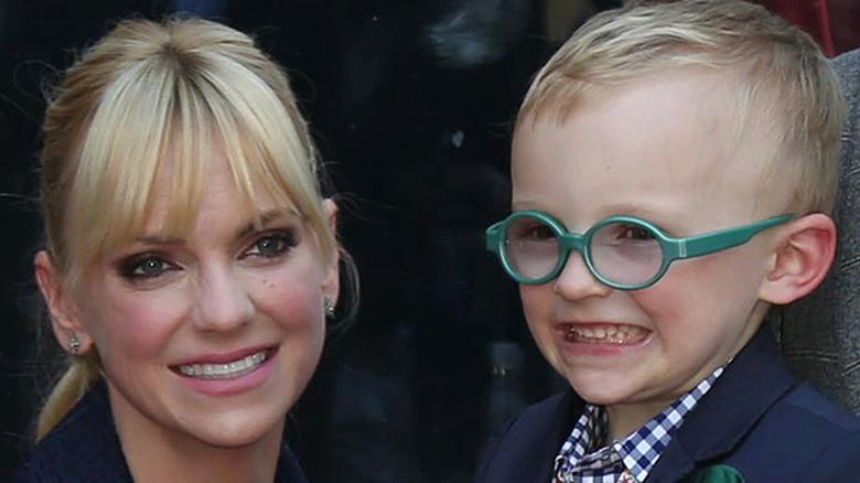 Anna Faris og sønnen Jack