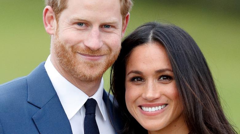 Prins Harry og Meghan Markle forlovelsesfoto 2018